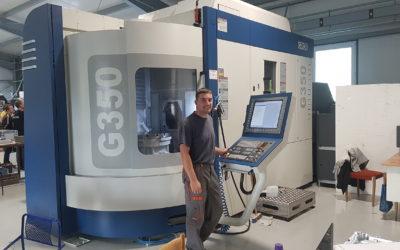 Nouveau centre CNC 5-AXES Grob 350