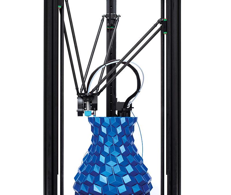 2 Nouvelles imprimantes 3D delta seront installées