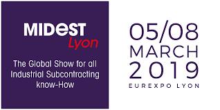 MIDEST à Lyon 5-8 Mars 2019